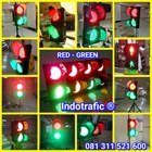 Lampu Traffic Light Merah Hijau 1