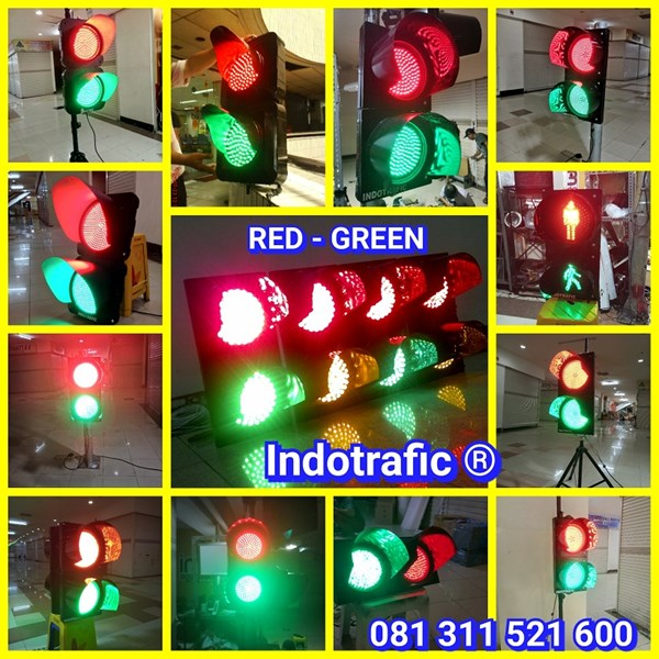 Lampu Traffic Light Merah Hijau