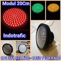 Lampu Traffic Light Modul 20cm