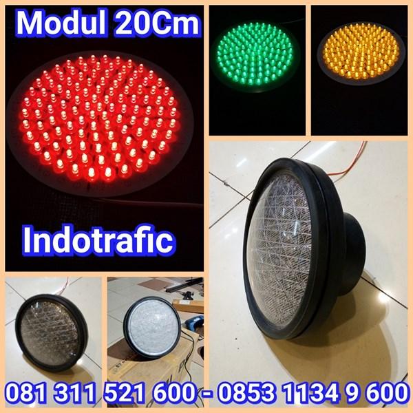 Lampu Traffic Light Modul 20cm