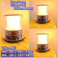 Lampu Tower SOlar Cell Yellow