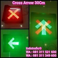 Lampu Traffic Light LLA 30cm