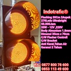 Lampu Traffic Light Flashing 30cm 1