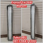Lampu Explosion Proof 2 x 36 Stainless Steel 1