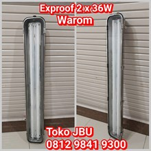 Lampu Explosion Proof 2 x 36 Stainless Steel
