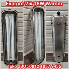 Exproof 2 x 18W Stainless Warom