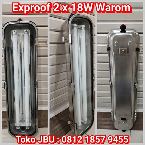 Lampu Explosion Proof 2 x 18W Warom