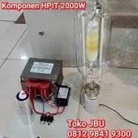Lampu Sorot Metal Halide 2000W Komponen