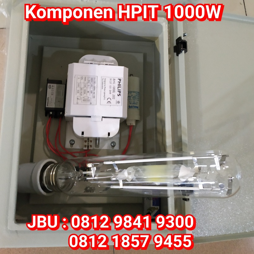 Jual Lampu Sorot Metal Halide 1000W Komponen Harga Murah