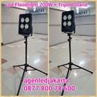 Stand Lampu Tripod PLus LED 200W 1