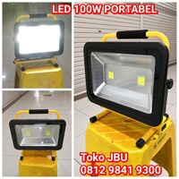 Lampu Sorot LED 100W Emergency