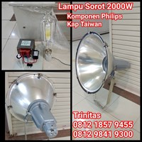 Lampu Sorot  Metal Halide 2000W