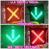 Lampu Traffic Light LLA 100cm x 100cm 1