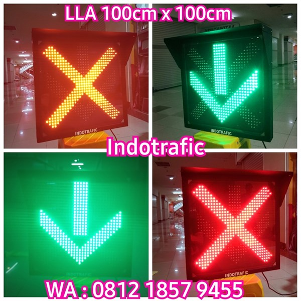 Lampu Traffic Light LLA 100cm x 100cm