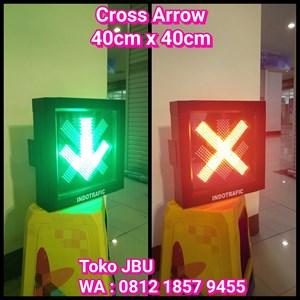 Cross Arrow Light 40cm Toll Gate