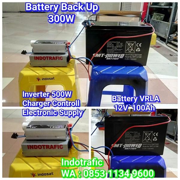Lampu Tenaga Surya Battery Back Up