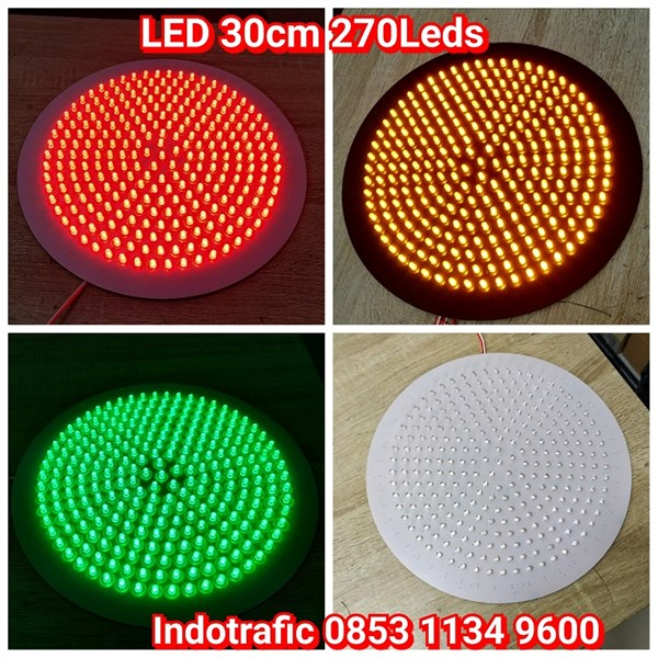 Lampu Traffic Light Modul LED 30cm