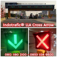 Lampu Traffic Light LLA 60cm Cross Arrow