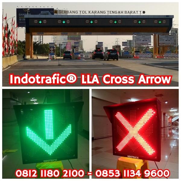 Lampu Traffic Light LLA 60cm Cross Arrow