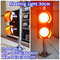 Lampu Traffic Light Flashing Box 2mm