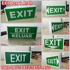 Lampu TL Exit Emergency Model Box 1