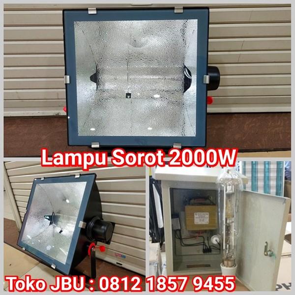 Lampu Sorot Metal Halide 2000W Pearlux