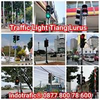 Tiang Traffic Light Model Lurus