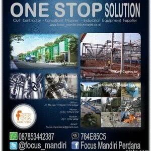 jasa bangunan, konstruksi dan taman By CV. Focus Mandiri Perdana