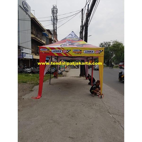 Tenda Lipat 3x3 Promosi Simpel