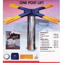 Car Wash Single Post Hydraulic Lift (Package Special Car Wash Equipment Efficient & Quality Guaranteed)