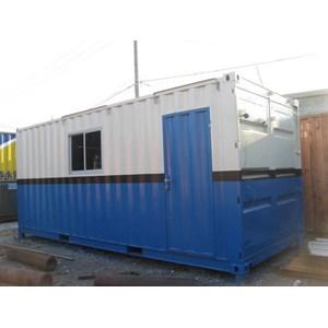 Office container 20 ft dengan kamar mandi By UD. Raharja Sejahtera