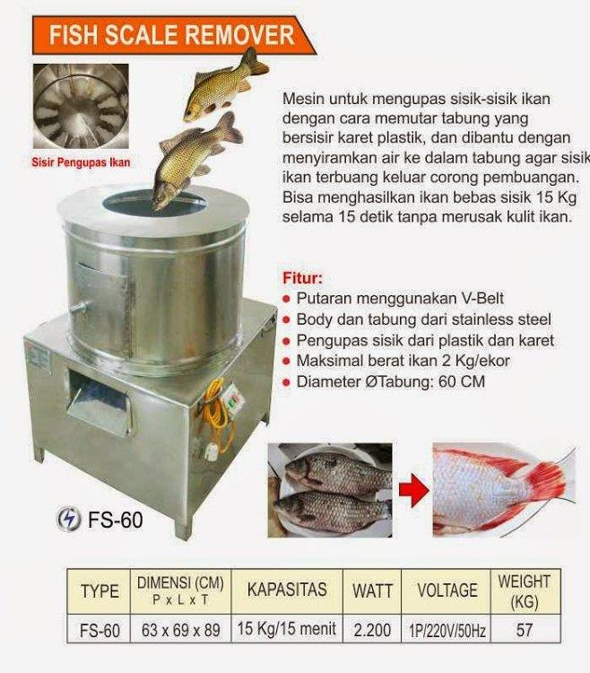 Sell machines for peeling the scales of fish from for Fish scale coke prices