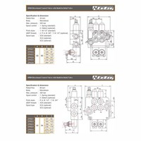 Distributor Nucleo P40 Hand Control Valve Manual Hidrolik 3