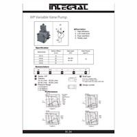 Distributor Integral IVP Hidrolik Variable Vane Pump  3