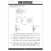 Distributor Integral 20VQ Vane Pump Hidrolik 3
