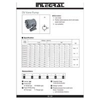 Distributor Integral DV Vane Pump Hidrolik  3