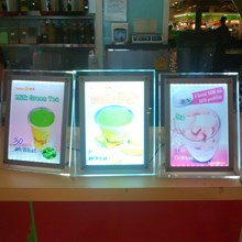 Display Menu Restoran