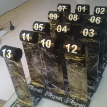 Acrylic Display Nomer