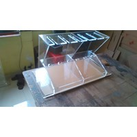 Jual Acrylic Wine Rack