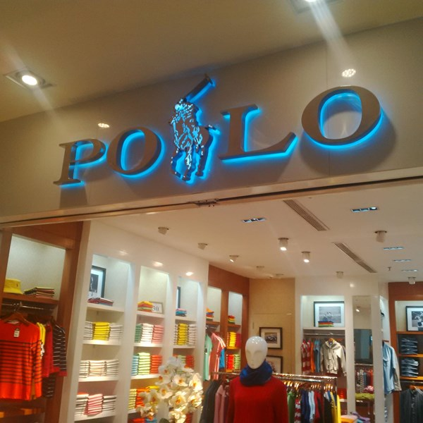 Neon Box Display Toko