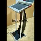 Podium stainless steel & kayu P26 2