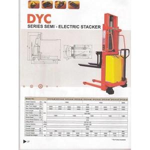 stacker semi electric DYC 15.16