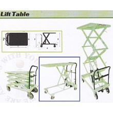lift table merk opk  type LTH-1000 12 ec. Lth-550 kg 250 kg.