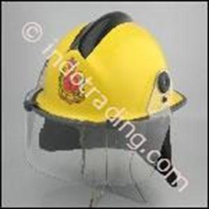 Helm Keselamatan Tipe  F3DK/2 Fire Helmet AS4067 Merk Pacific