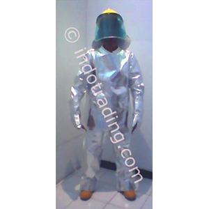 Baju Safety Rescue Suit Aluminized Set Merk TEMPEX