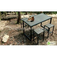 Jual Powdercoat Galvanized Bar Table