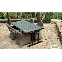 Jual Lisabon Outdoor Galvanized Steel Table