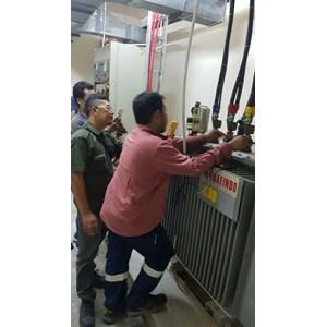 Instalasi Trafo Pada Lautan Intan Berlian - Mitsubishi By CV. Trasmeca Jaya Electric