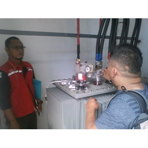 Instalasi Trafo Di Amazon Tangerang By CV. Trasmeca Jaya Electric