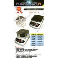 Jual Timbangan Electronic Balance HENHERR BL H2 300g 600g 1500g 2000g 3000g 6000g Murah Akurat Bergaransi 2